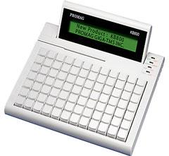 KB800 USB-HID Программируемая клавиатура, дисплей (20*2) со