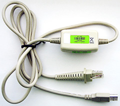 CipherLab 1090+/1200/1500/1502/1504 USB-HID (307) Cable - Интерфейсный кабель типа USB-HID (307)  для сканеров 1090+/1200/1500/1502/1504